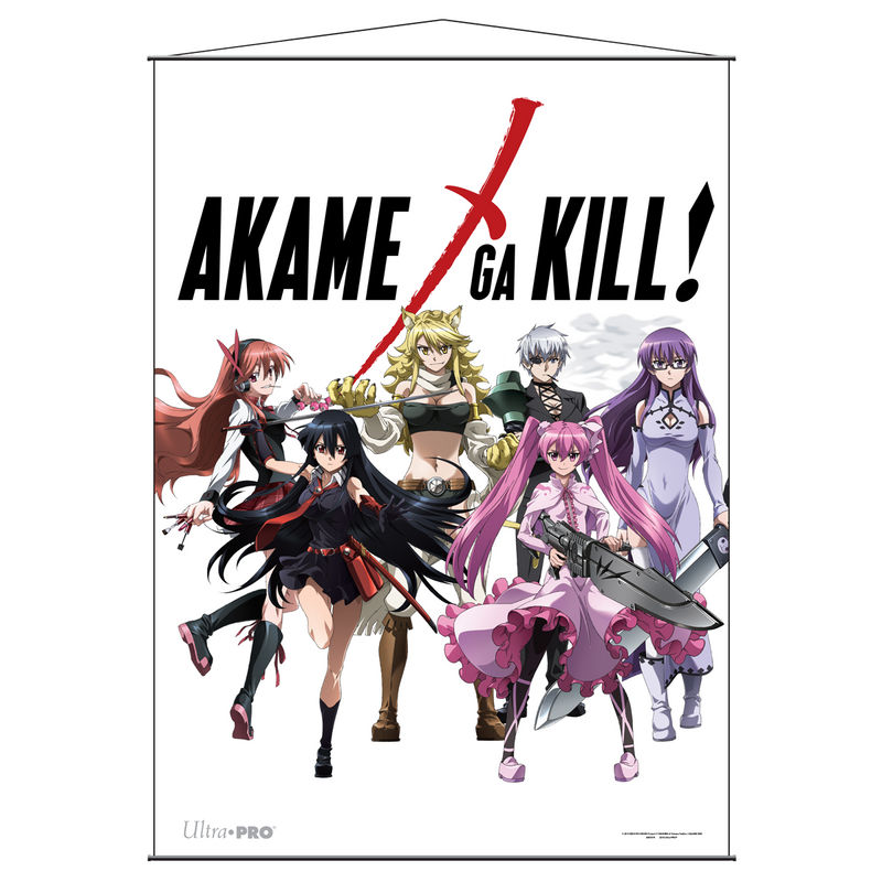 Akame Ga Kill Wall Scroll - Heroines - Ultra PRO International