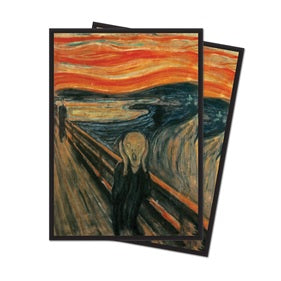 Fine Art - The Scream Standard Deck Protectors (65 ct.) - Ultra PRO International