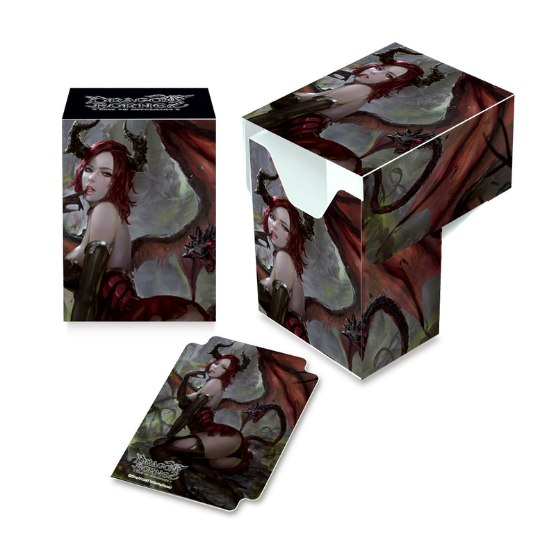 Dragoborne Alluring Temptress Full-View Deck Box - Ultra PRO International