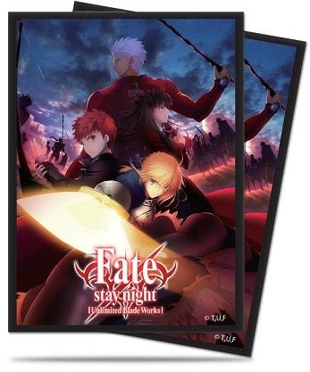 Fate Unlimited Blade Works Standard Protector Sleeves (65 ct.) - Ultra PRO International