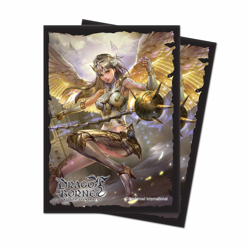 "Dragoborne Oath of Blood ""Resting Guard"" Deck Protectors (65 ct.) - Ultra PRO International"