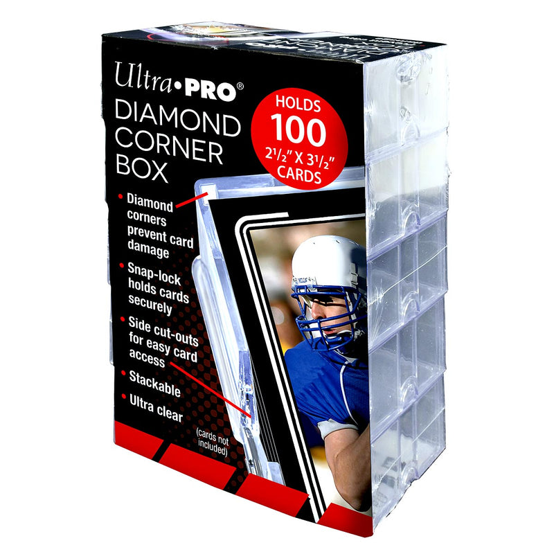 Diamond Corner 100+ Card Box (Pack of 10 Boxes) - Ultra PRO International