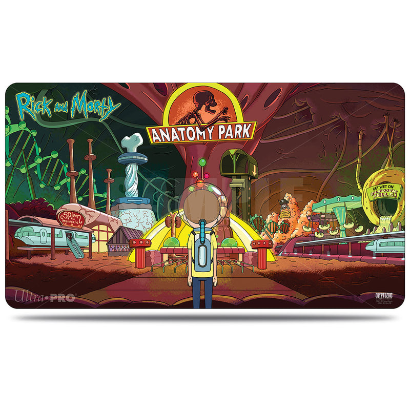 Rick and Morty Anatomy Park Gaming Playmat - Ultra PRO International