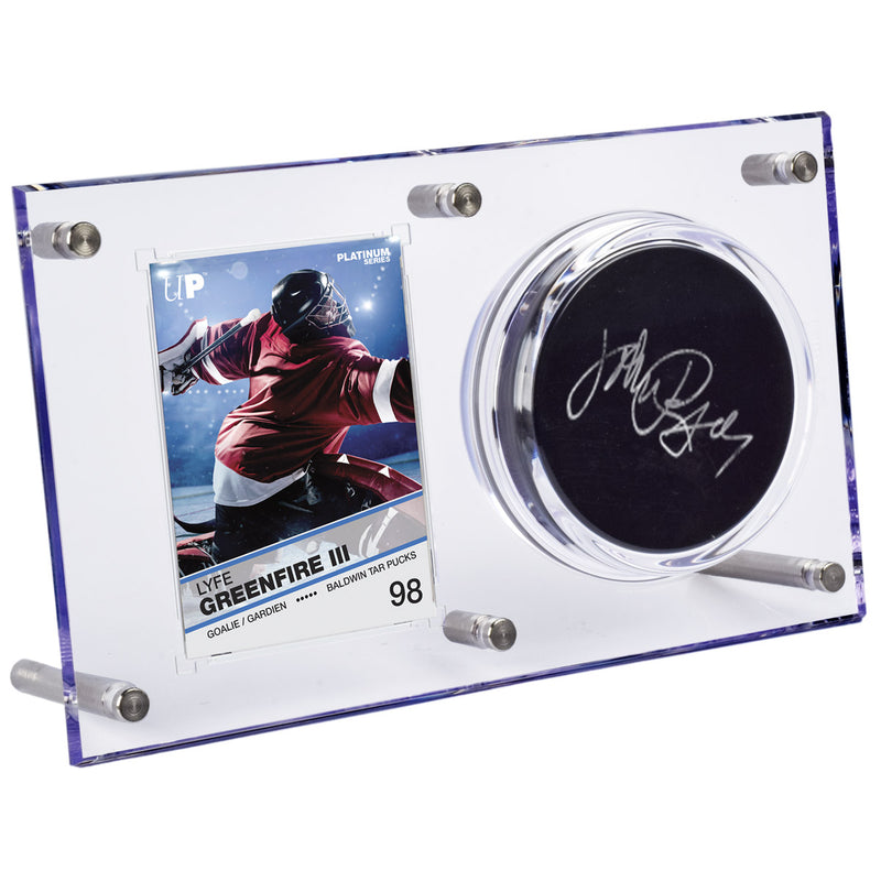 Clear Puck & Card Flip Display 120pt - Ultra PRO International