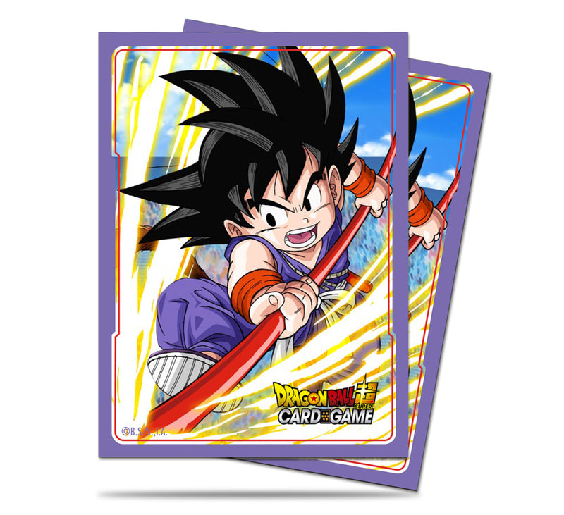 Dragon Ball Super Standard Deck Protector sleeves (65 ct.), Explosive Spirit Son Goku - Ultra PRO International