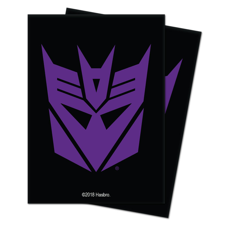Transformers Decepticons Deck Protector sleeves (100 ct.) for Hasbro - Ultra PRO International