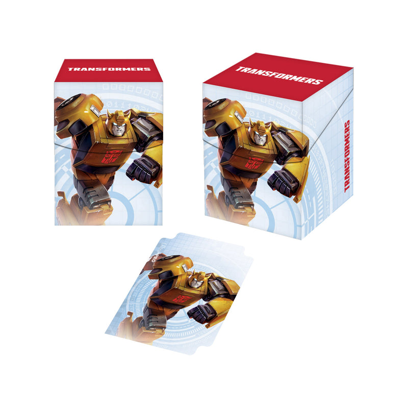 Transformers Bumblebee PRO 100+ Deck Box for Hasbro - Ultra PRO International