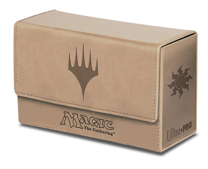 Dual Flip Box White Mana for Magic (Matte Finish) - Ultra PRO International
