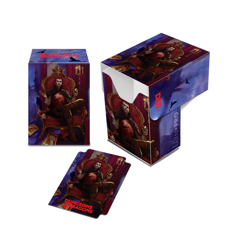 Dungeons & Dragons Count Strahd von Zarovich Full-View Deck Box - Ultra PRO International