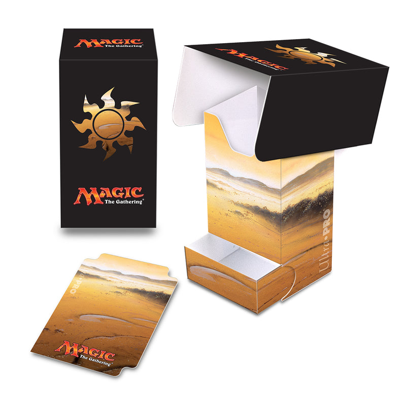 Mana 5 Plains Full-View Deck Box with Tray - Ultra PRO International