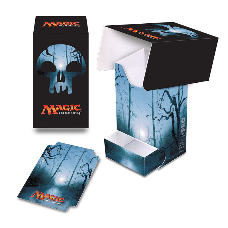 Mana 5 Swamp Full-View Deck Box with Tray - Ultra PRO International
