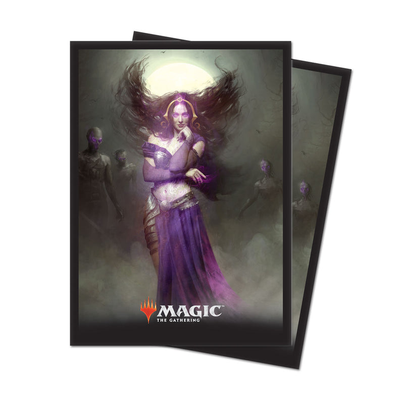 M19 Liliana, Untouched by Death Deck Protectors (80 ct.) Retail, - Ultra PRO International