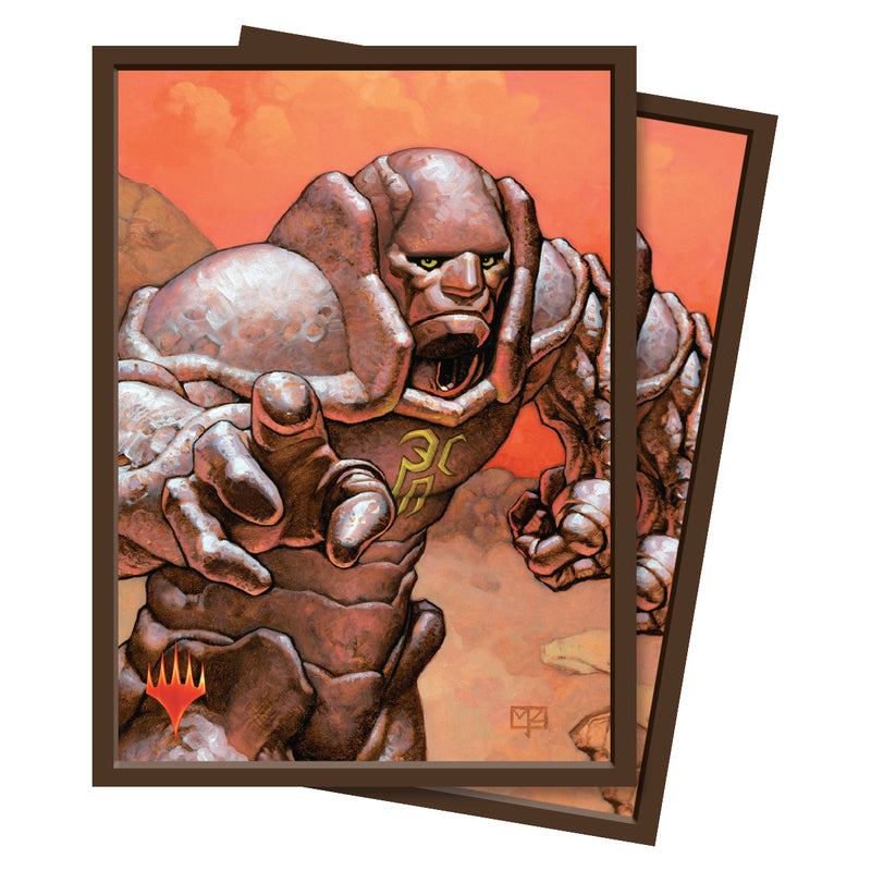 Karn, Silver Golem Standard Deck Protectors (100 ct.) - Ultra PRO International