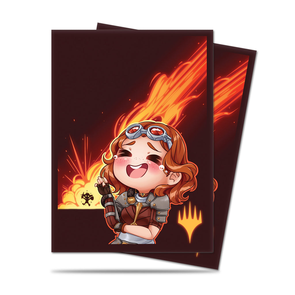 Chibi Collection Chandra - LOL! Standard Deck Protectors 100ct