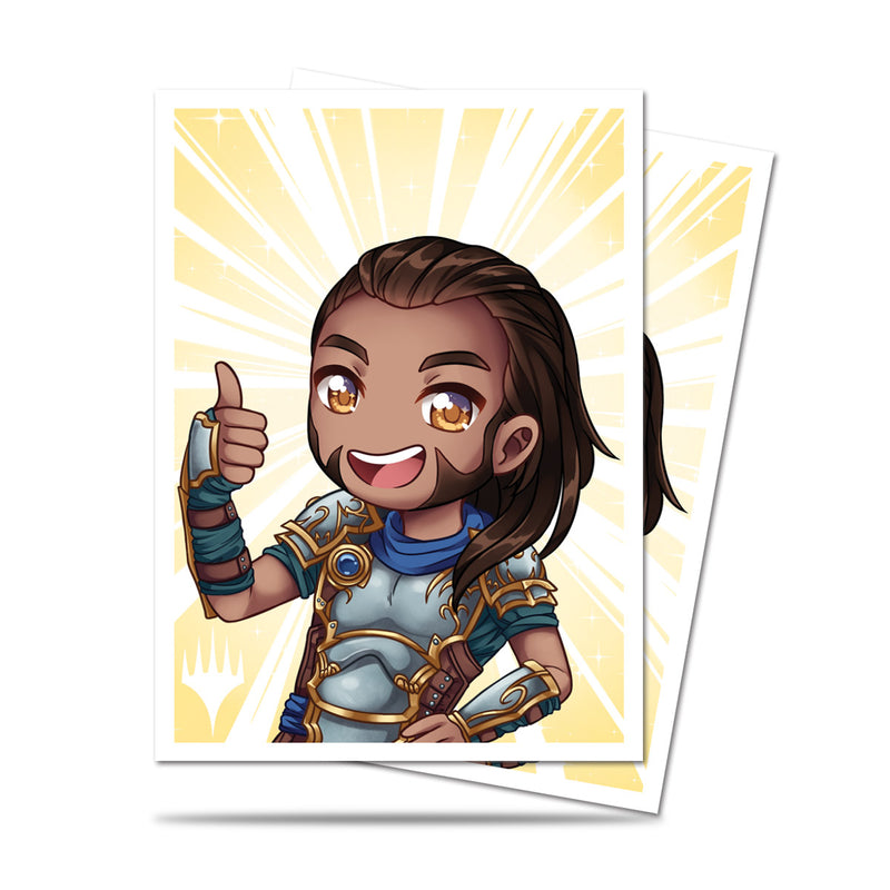 Magic: the Gathering Chibi Collection Gideon - Good Job! Deck Protectors 100 ct. - Ultra PRO International