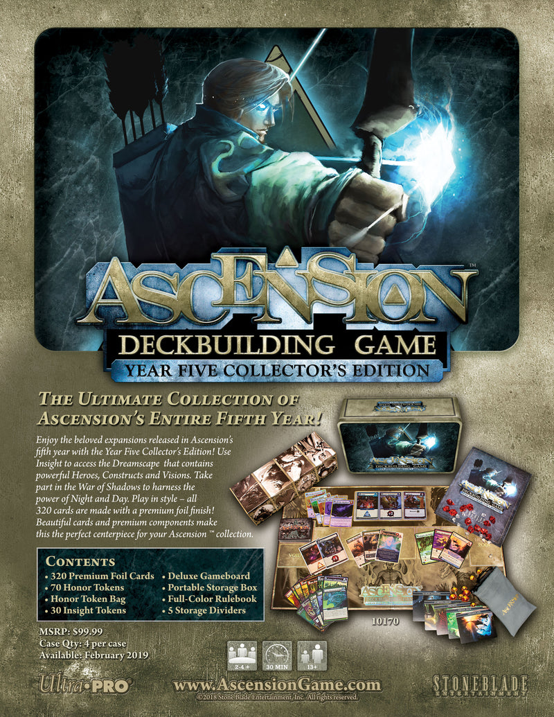 Ascension: Year Five Collector's Edition - Ultra PRO International