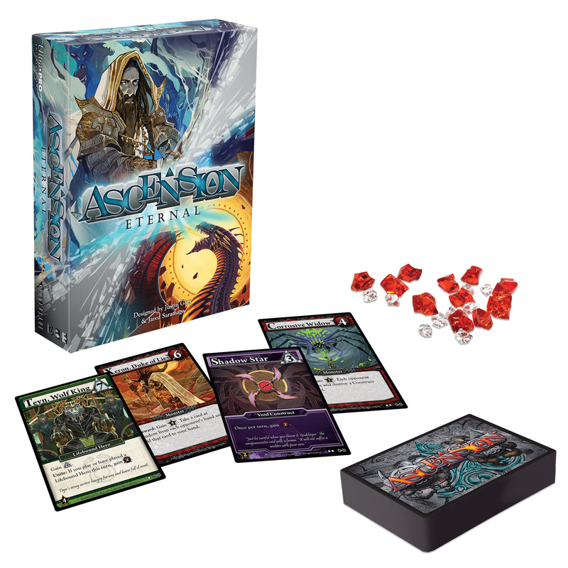 Ascension Eternal: Strategy Game for Ages 10 and Up