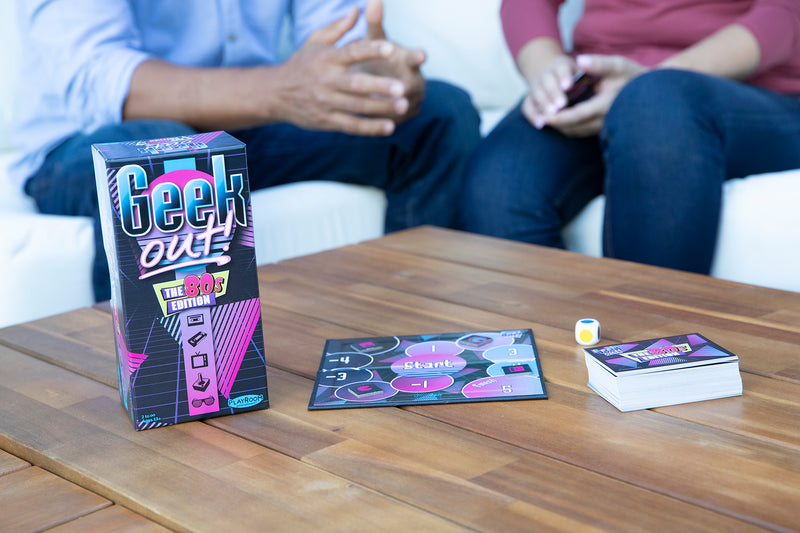 Geek Out! The 80s Edition, Party Game for Ages 13 and Up