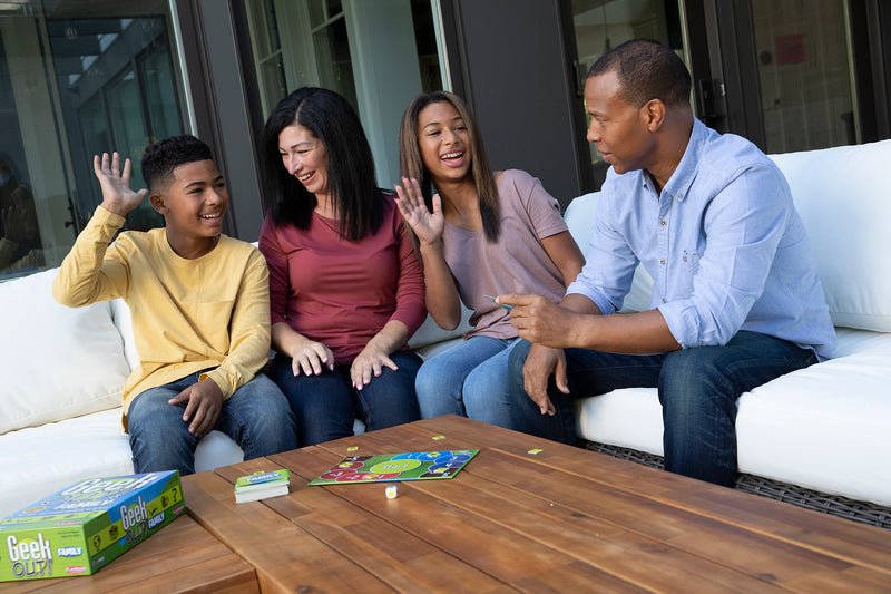 Geek Out! Family: Party Game for Ages 8 and Up