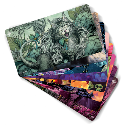 Magic: the Gathering Limited Edition Holiday Playmat Bundle