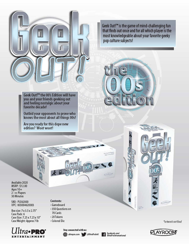 Geek Out! 00s Edition - Ultra PRO International