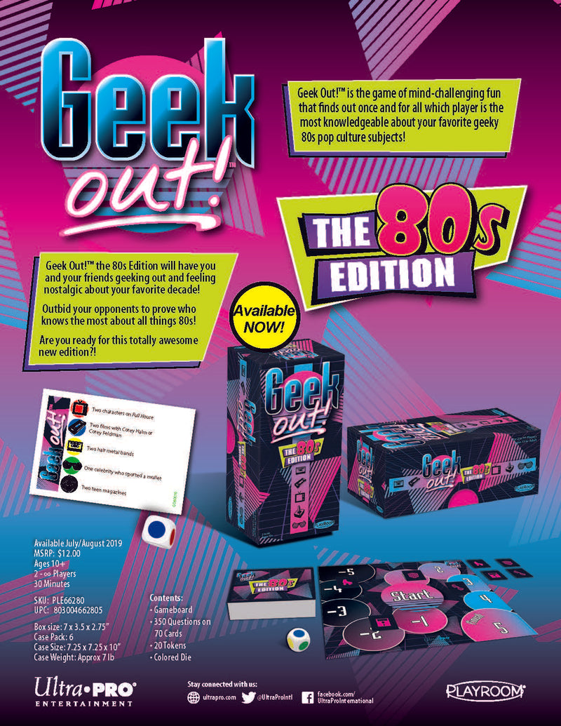 Geek Out! 80's Edition - Ultra PRO International