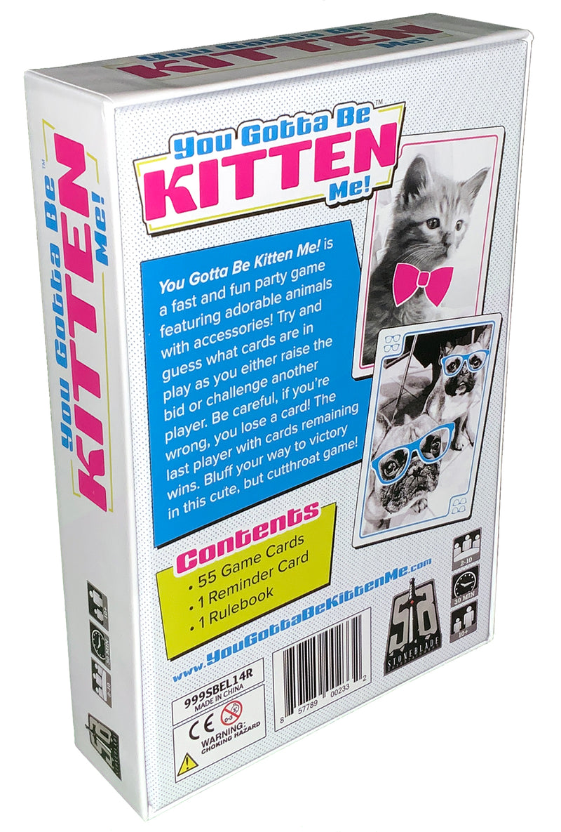 You Gotta Be Kitten Me! Card Game for Ages 10 and Up