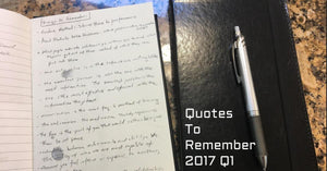 Quotes from the HMFIC's Journal