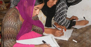 Combat Flip Flops blog post about aid afghanistan for education winning unesco's literacy award.