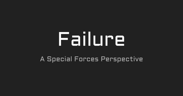 Your Transition Will Fail | A Special Forces Perspective