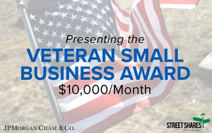 $10,000 a Month for Veteran Small Business?