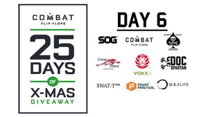 Combat Flip Flops 25 Days of Christmas Giveaway: Day 6
