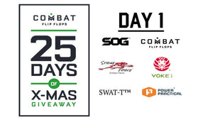 Combat Flip Flops Blog 25 Days of Christmas Giveaway Day 1