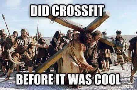 Jesus did Crossfit