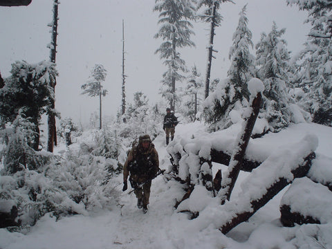 Afghanistan Snow in the Hindu Kush with Army Rangers