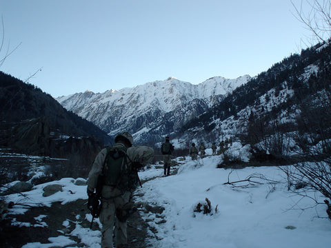 Kunar Valley Afghanistan 2003 Army Rangers Winter Strike