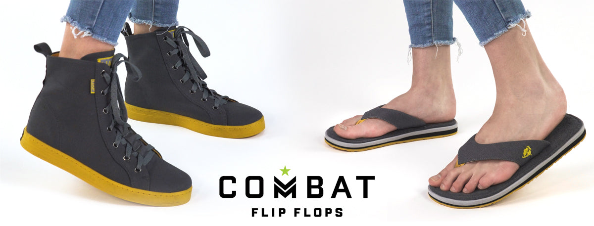 cd8e69449 Combat Flip Flops - Bad for Running. Worse For Fighting.