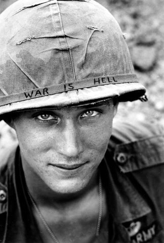 Vietnam Airborne Soldier Veteran War is Hell