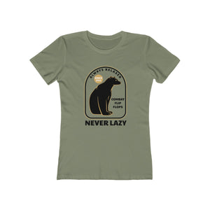 Always Relaxed Never Lazy Women's Tee