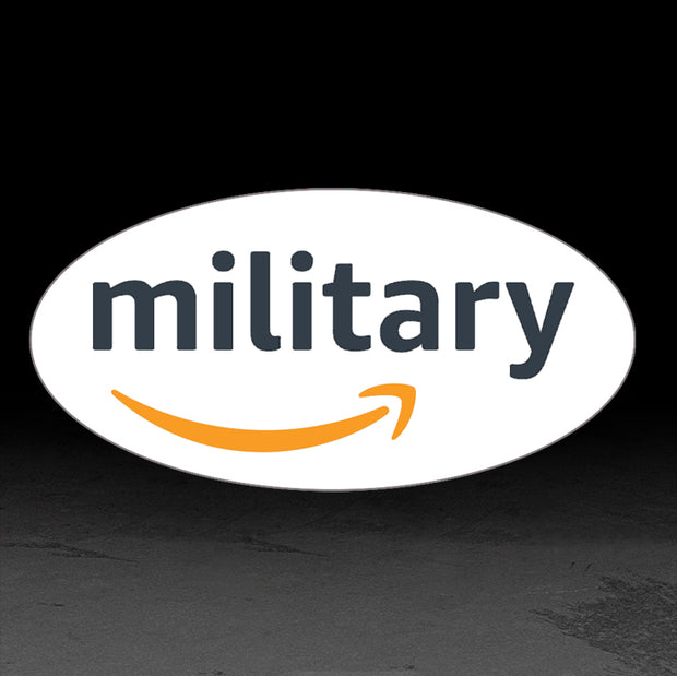 Amazon Military Sticker (non-glow) 25 Pack