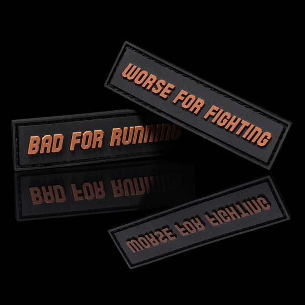 Bad for Running Worse for Fighting Patch Set