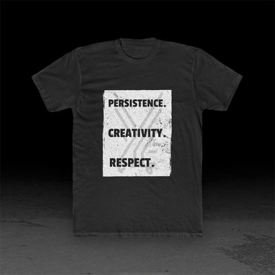 Persistence Creativity Respect - Men's Tee