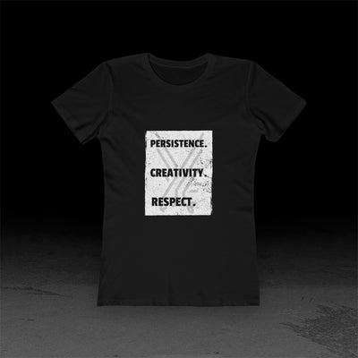 Persistence Creativity Respect - Women's Tee