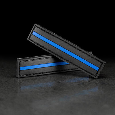 Combat Flip Flops floperator thin blue line police law enforcement patch set by tactical military ranger veteran worn by marines seals special forces army and navy 1
