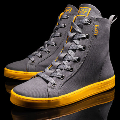 Women's Weekender Grey/Yellow High Top