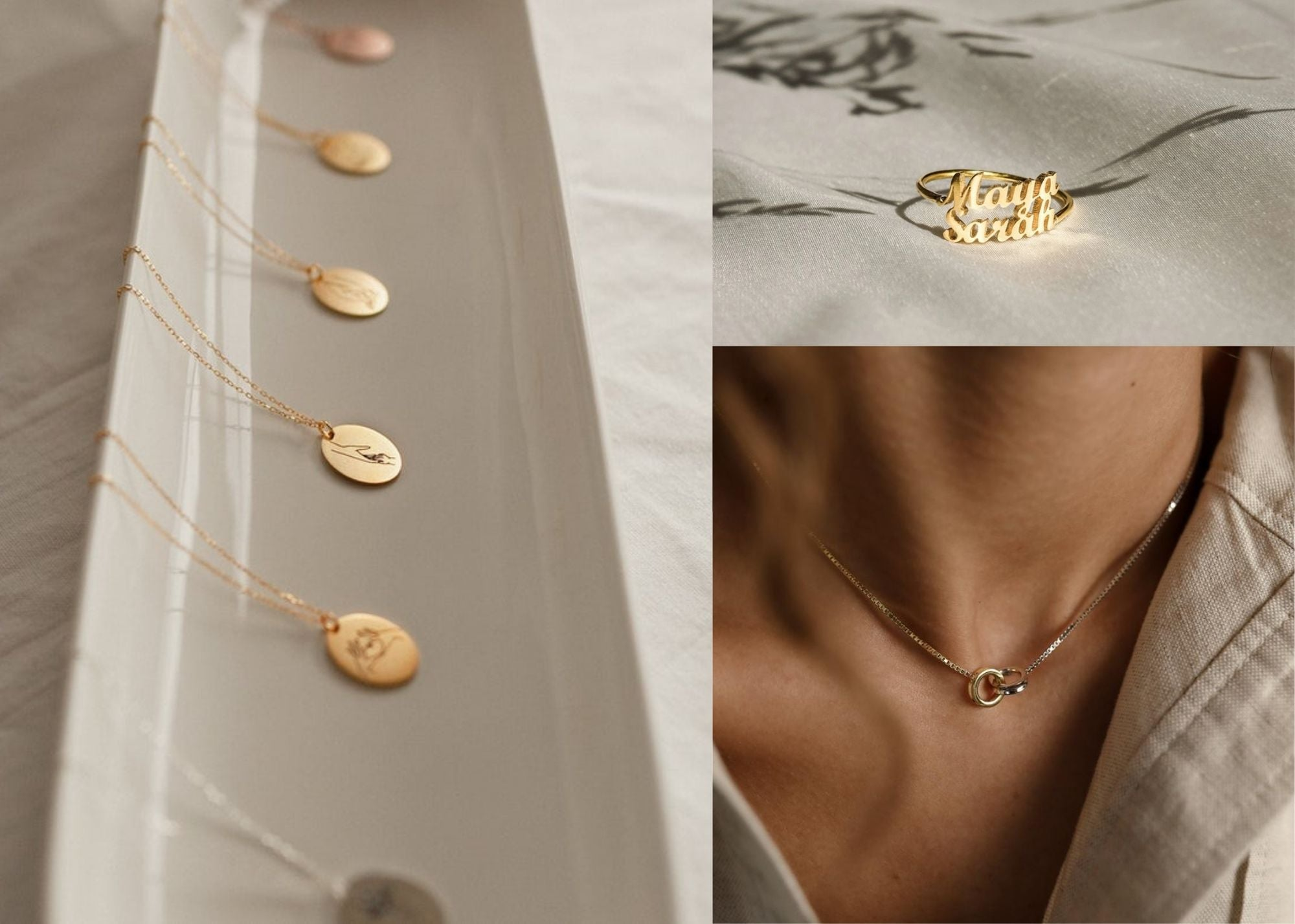 modern jewelry, contemporary jewelry, modern necklaces, minimalist jewelry, jewelry trends 2021, sleek jewelry, sleek necklaces, polished jewelry, mother's day, mother's day gift, mother's day gift guide, gifts for her, gifts for new moms, delicate jewelry, mother's day jewelry, everyday jewelry essentials, gifts for mom, gifts for grandmother