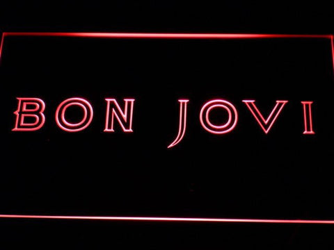 Bon Jovi Band LED Neon Light Sign Man Cave C124 B