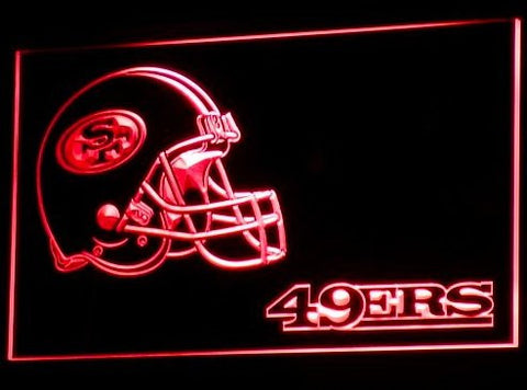 San Francisco 49ers Helmet Neon Sign (Nr. Light. LED)