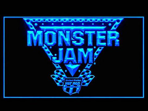 Monster Jam Hub Bar Advertising LED Light Sign P461B
