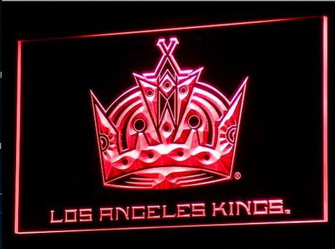 LA Kings Neon Sign (B089-b. LED. Los Angeles)